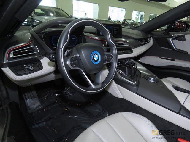 2015 BMW i8 (Blue/Gray)