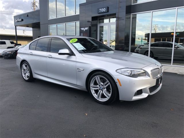 2011 BMW 5-Series (Silver/Black Nappa Leather)