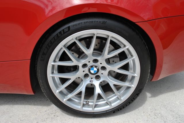 2013 BMW M3 (Melbourne Red/Fox Red/Black)