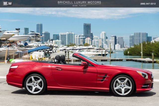 2014 Mercedes-Benz SL-Class (Red/Black)