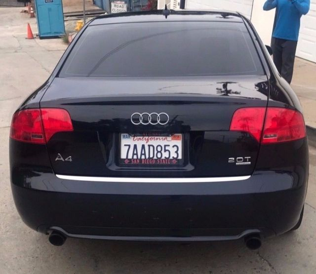 2008 Audi A4 (Midnight Blue/Black)
