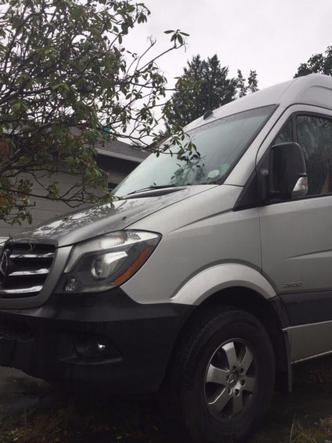 2016 Mercedes-Benz Sprinter (Silver/Gray)