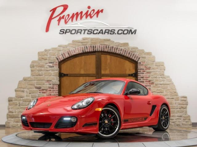 2012 Porsche Cayman (Red/Black)