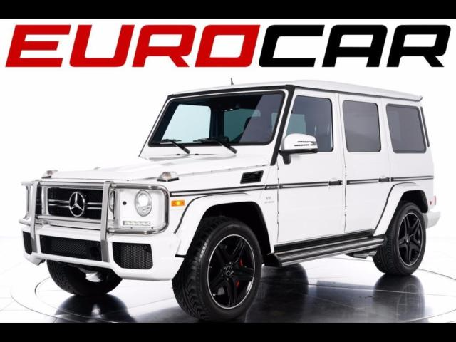 2015 Mercedes-Benz G-Class (White/Red)