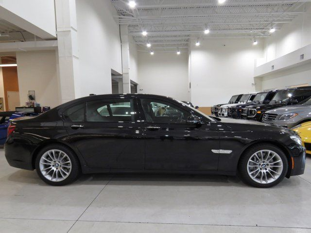 2015 BMW 7 Series Black