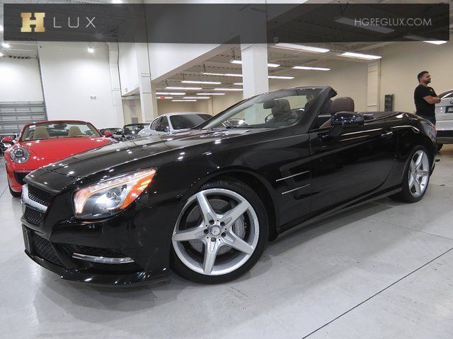 2014 Mercedes-Benz SL-Class (Black/Brown)