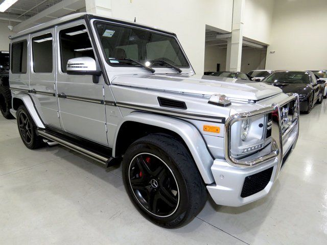 2016 Mercedes-Benz G-Class (Gray/Red)