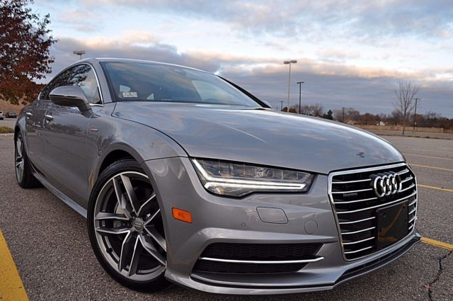 2016 Audi A7 (TORNADO GRAY METALLIC/BLACK)