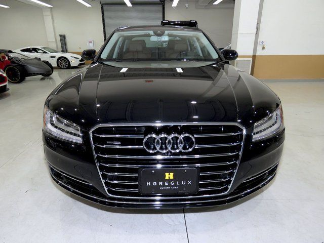 2016 Audi A8 (Black/Brown)