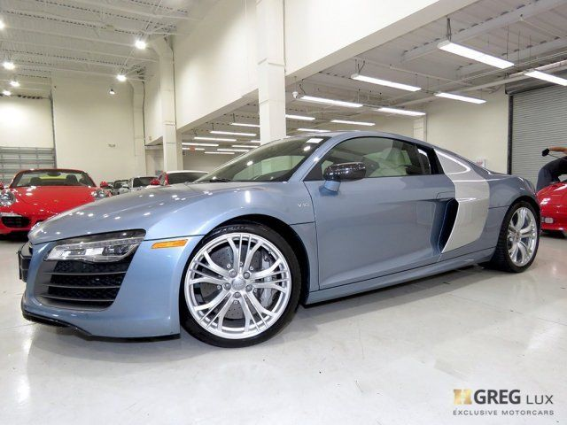 2014 Audi R8 (Blue/Luxor Beige w/Fine Nappa Leather Seat Trim)