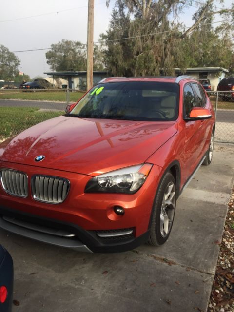 2014 BMW X1 (Orange/Tan)