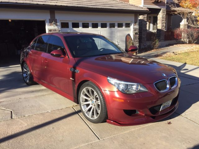 2010 BMW M5 (Burgundy/Tan)