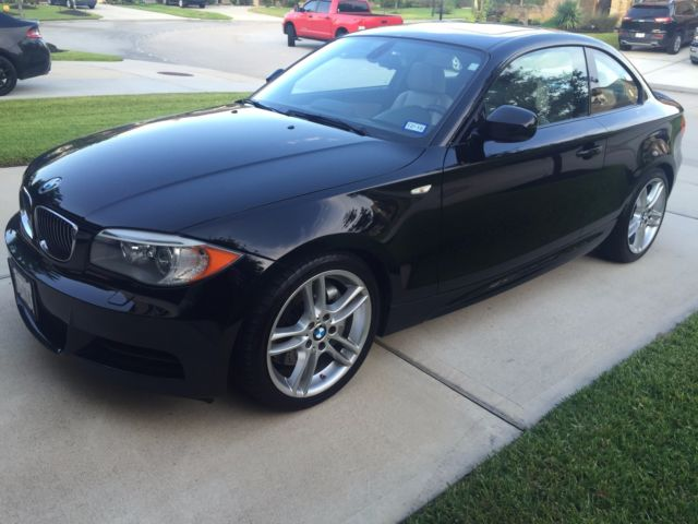 2012 BMW 1-Series (Black/Tan)