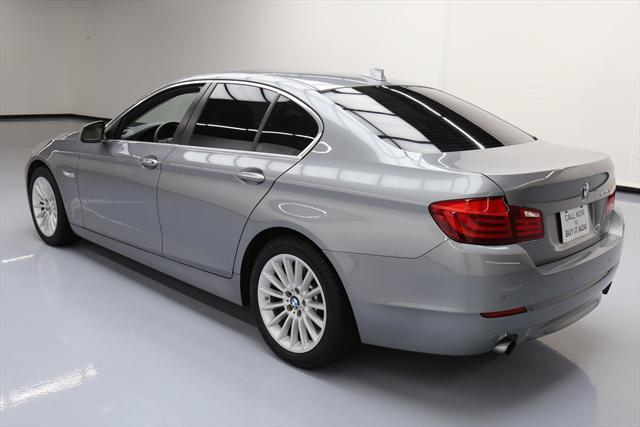 2012 BMW 5-Series (Gray/Tan)