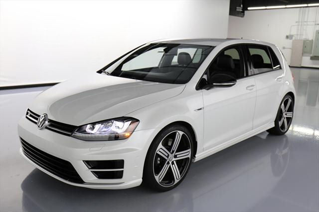 2016 Volkswagen Golf R (White/Black)