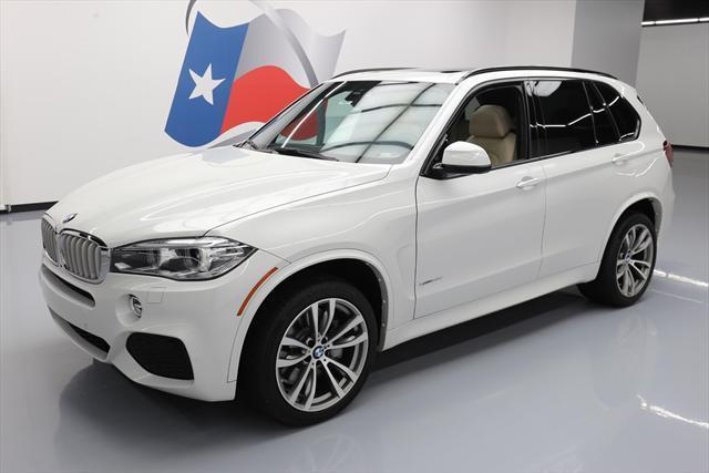 2016 BMW X5 (White/Tan)