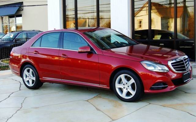 2014 Mercedes-Benz E-Class (Red/Black)