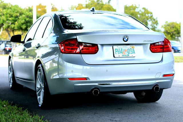 2015 BMW 3-Series (Silver/Black)