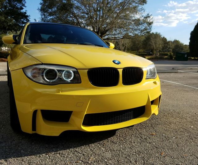 2011 BMW 1-Series (DAKAR YELLOW/Black)