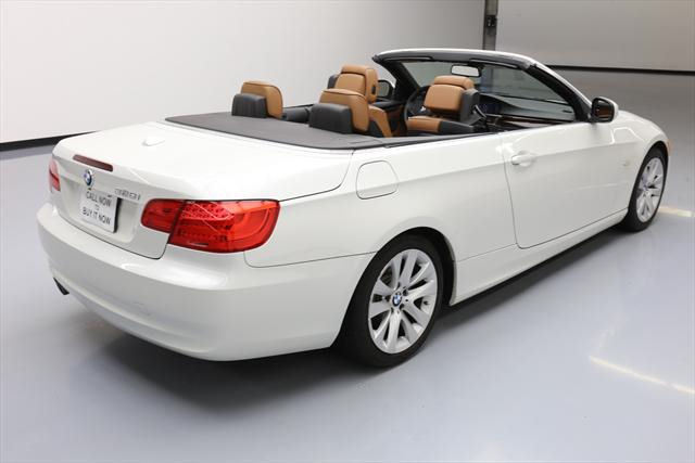 2012 BMW 3-Series (White/Brown)
