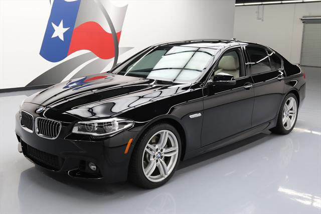 2014 BMW 5-Series (Black/Tan)