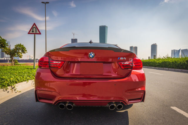 2015 BMW M4 (Orange/Black)
