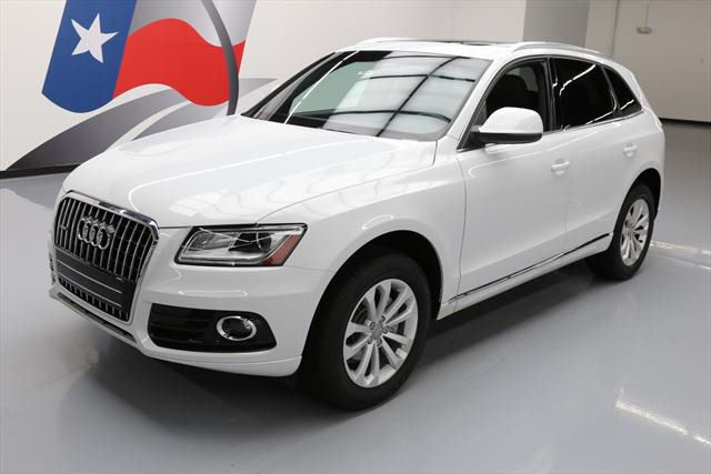 2014 Audi Q5 (White/Brown)