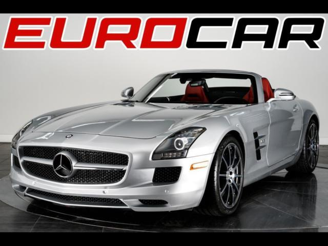 2012 Mercedes-Benz SLS AMG (Silver/Red)