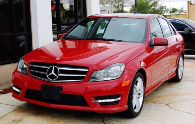 2014 Mercedes-Benz C-Class (Red/Black)