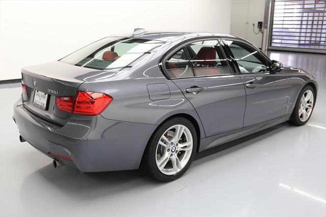 2014 BMW 3-Series (Gray/Red)