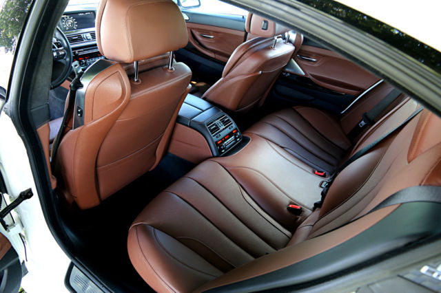 2015 BMW 6-Series (White/Brown)