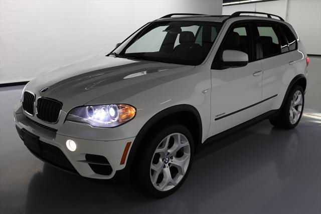 2013 BMW X5 (White/Brown)