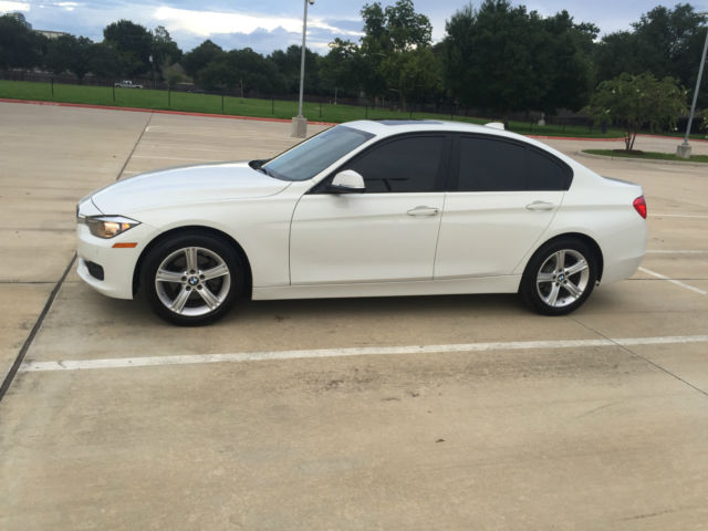 2014 BMW 3-Series (White/Beige)