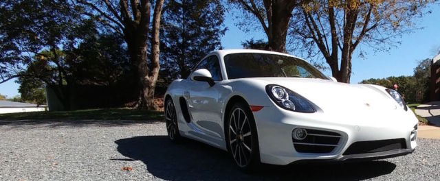 2014 Porsche Cayman (White/Black)