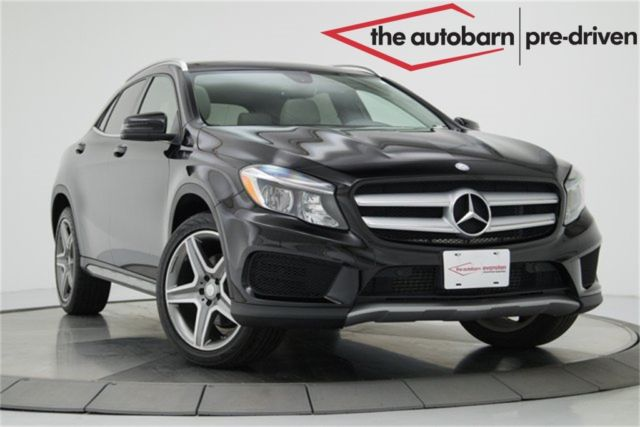 2015 Mercedes-Benz GLA (Black/Ash)