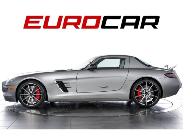 2014 Mercedes-Benz SLS AMG (Gray/White)