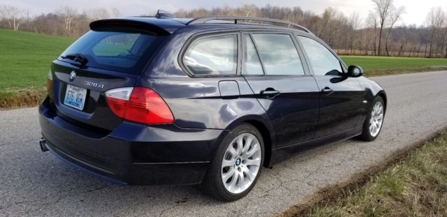 2008 BMW 3-Series (Monaco Blue/Terra Cotta)