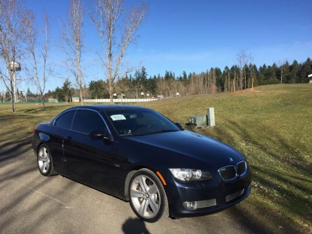 2007 BMW 3-Series (Blue/Black)