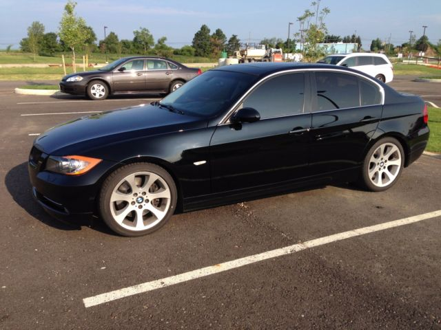 2008 BMW 3-Series (Jet Black/Black Dakota Leather)