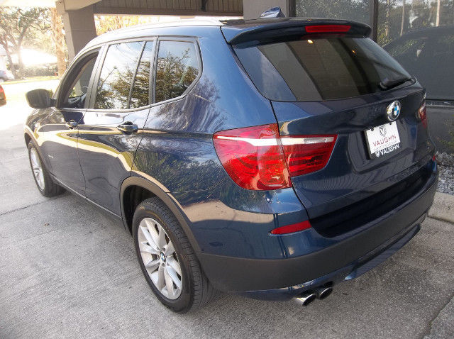 2013 BMW X3 (Blue/Black)