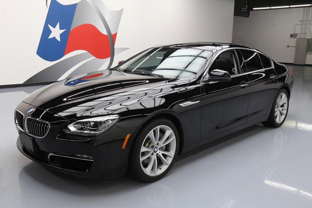 2014 BMW 6-Series (Black/Black)