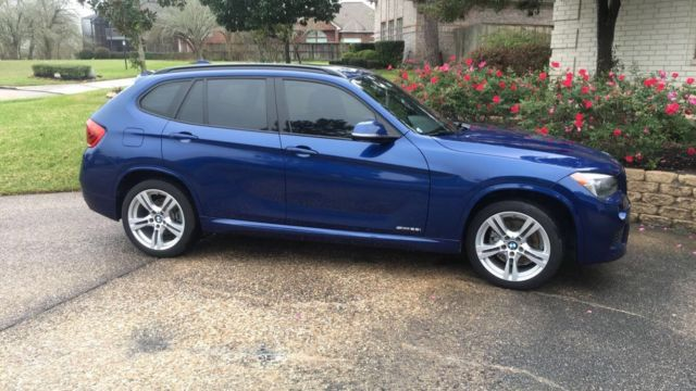 2014 BMW X1 (M Sport Blue/Black)