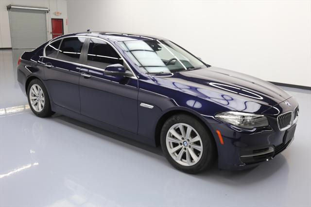 2014 BMW 5-Series (Blue/Brown)