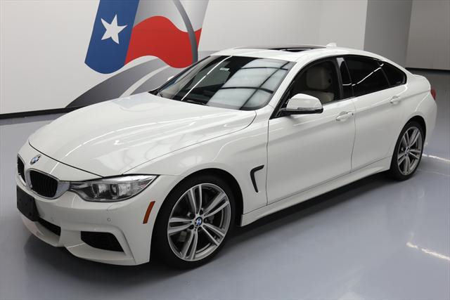 2015 BMW 4-Series (White/Tan)