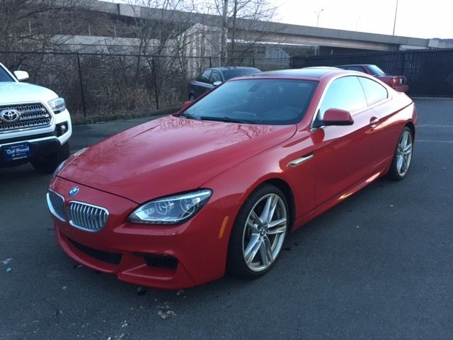 2012 BMW 6-Series (Red/Black)