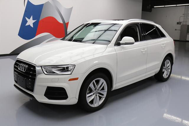 2016 Audi Q3 (White/Brown)