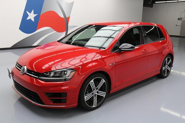 2016 Volkswagen Golf R (Red/Black)