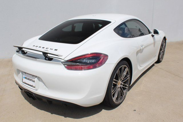 2016 Porsche Cayman (White/Orange)