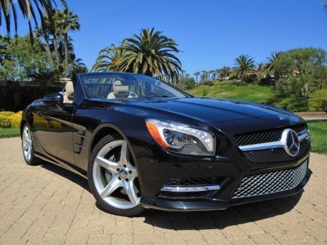 2013 Mercedes-Benz SL-Class (Black/Brown)