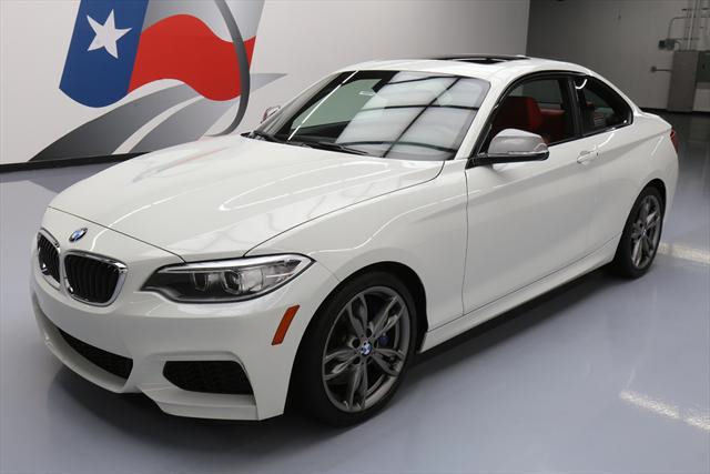 2015 BMW 2-Series (White/Red)